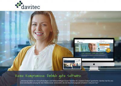Kampagnenmotiv mit Unternehmenswebseite
